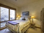 Guest Bedroom 3 is located on the lower level and features a queen bed. This bedroom has access to the full bathroom...