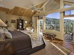 You may actually want to wake up early once you check out the views from the Master Bedroom located on the main level...