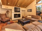 Collapse on the comfy couches in front of the fire after a long day skiing - after all, you're only steps from the...