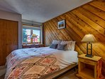 Curl up in the Master Bedroom's queen bed after a day of exploring.