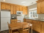 The guest house has its own kitchenette, which is perfect for larger families that need a bit more room to spread out