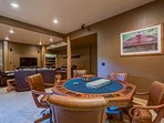 Brush up on those bluffing skills at the poker table.