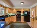 There's plenty of space in this gourmet kitchen to make just about anything.