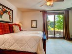 Step out onto the patio in Guest Bedroom #2 and wake up to the sights and sounds of nature and golf.