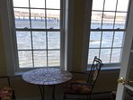 Enjoy coffee each morning in your sun room/porch with unrestricted views of the water.