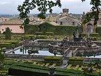 Destinazioni in nostra zona- Villa Lante, Bagnaia - 27 min in auto
