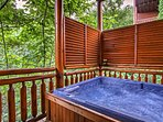 And who doesn't love a big hot tub on their weekend getaway!?