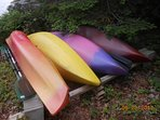 4 kayaks available on site