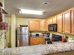 Fully equiped kitchen with everything you will need to prepare your family meals!