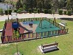 jardín infantil en la urbanización