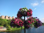 Inverness Castle in summertime