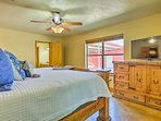 Enjoy the perks of a king bed, TV and en-suite in the master room.