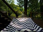 Take a snooze in the hammock.