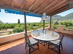 Peloponnese Villa Thalia in Epidaurus with pool and view - 1st floor