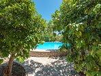 Peloponnese Villa Thalia in Epidaurus with pool and view