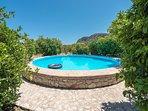 Peloponnese Villa Thalia in Epidaurus with pool and view - ground floor