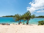 Ort allgemein  - Strand  Uvala Duga, Insel Ciovo