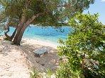 Ort allgemein  -Strand  Uvala Duga, Insel Ciovo