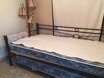 Bedroom 3: Trundle bed with 2 twin mattresses