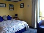Main bedroom, adjacent to ensuite shower room.