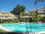 Beautiful communal pool