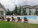 Plan your Canadian adventure to this 2-bedroom, 2-bath vacation rental condo.