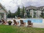 Plan your Canadian adventure to this 2-bedroom, 2-bath vacation rental condo.