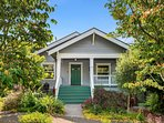 This charming home is located on a quiet tree-lined street in Seattle's Madrona neighborhood