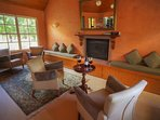 Bar Lounge Fireplace