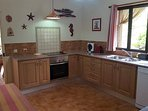 Fully equipped kitchen - everything you will need here