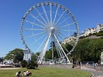 Torquays' Big Wheel. Just like London ! on the sea front by the Theatre 10 mins walk away