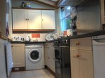 Warrandyte's fully equipped kitchen now features a new duel-fuel range cooker