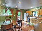 Gourmet feasts are made a reality in this fully equipped kitchen!
