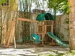 Kids Playground at Hemingway Park Building