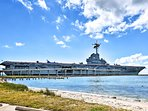 Visit the naval aviation museum in the converted USS Lexington aircraft carrier.