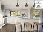 Hunter Valley Accommodation - Harkham House - Kitchen