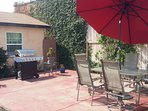 Private Patio/BBQ Grill for guests use.