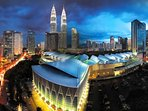 5 min by car to the KL convention centre.