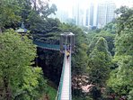 5 min by car to the KL Forest Eco Park.