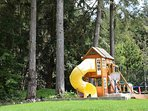 Children's Playground and Trampoline