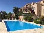 Tala Chorio Seaview. Wonderful large communal pool.