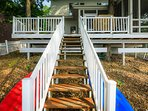 Stairs from Dock to Deck