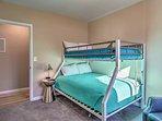 Bedroom 3 with bunk beds