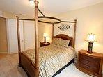 Queen Bedroom w/Flat Screen TV - View #3