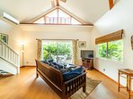 Large Windows throughout the Home Surrounded by Lush Tropical Vegetation!