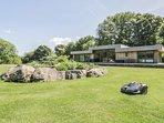 TEWETS, luxury detached cottage, hot tub, en-suites, woodburner, parking, patio,