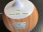 Kitchen Oil Diffuser with built in Bluetooth speaker