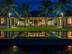 Villa Shanti - Night ambience
