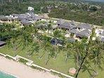Villa Shanti - Aerial view