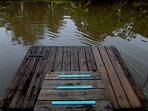 Own private dock...we can help to rent you a boat in sierpe